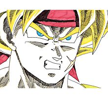 Bardock Will Eat You! Photographic Print