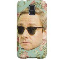 A Very Floral Martin Freeman Samsung Galaxy Case/Skin