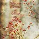 May your Christmas be bright and beautiful...card by vigor