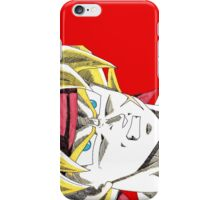 Bardock Will Eat You! iPhone Case/Skin