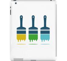 color brushes iPad Case/Skin