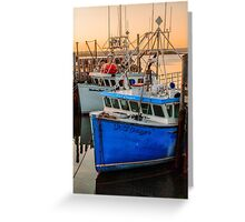 Yarmouth Harbour Greeting Card