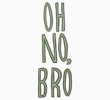 Regular Show / Oh no, Bro Tee One Piece - Long Sleeve