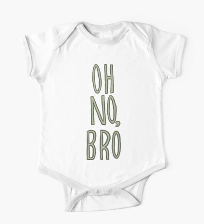 Regular Show / Oh no, Bro Tee One Piece - Short Sleeve