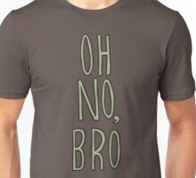 Regular Show / Oh no, Bro Tee Unisex T-Shirt