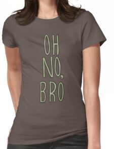 Regular Show / Oh no, Bro Tee Womens Fitted T-Shirt