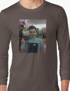 Mason Face Tee Long Sleeve T-Shirt