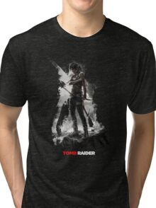 Tomb Raider - Survivor is Born Tri-blend T-Shirt