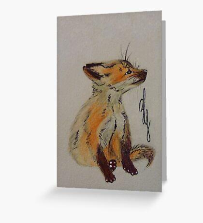 Master Fox Greeting Card