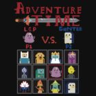 Adventure time showdown by atumatik