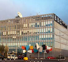 BBC Scotland, Pacific Quay, Glasgow by photoeverywhere