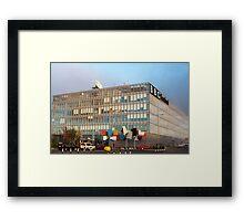 BBC Scotland, Pacific Quay, Glasgow Framed Print