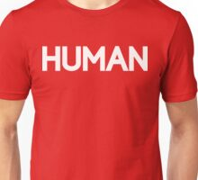 HUMAN [White Ink] Unisex T-Shirt