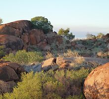 Devils Marbles  by Virginia  McGowan