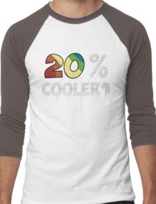 20 Percent Cooler Men's Baseball ¾ T-Shirt