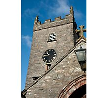 Hawkshead Church Tower Photographic Print