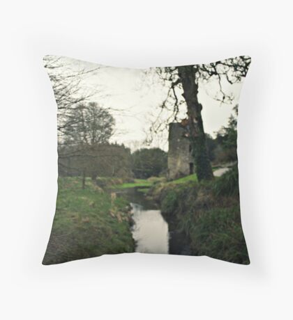 Blarney Castle  Throw Pillow
