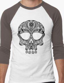 Skullsley - black Men's Baseball ¾ T-Shirt