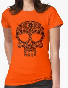 Skullsley - black Womens Fitted T-Shirt