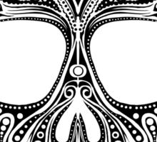 Skullsley - black Sticker