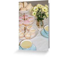 Cuppa, Cake & Cookies Greeting Card