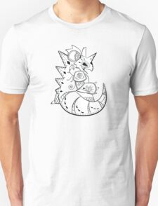 Nidoking de los Muertos | Pokemon & Day of The Dead Mashup T-Shirt