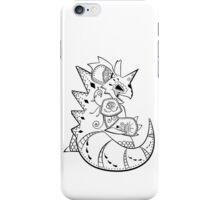 Nidoking de los Muertos   Pokemon & Day of The Dead Mashup iPhone Case/Skin