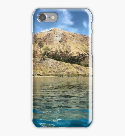 Wanaka Blue ( 10 )  iPhone Case/Skin