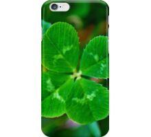 lucky clover, lucky day iPhone Case/Skin