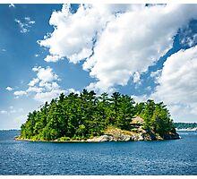 Island in Georgian Bay Photographic Print