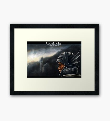 A Song of Ice and Fire V Framed Print