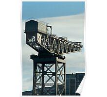clydeport crane Poster