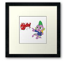 Spike Phoenix  Framed Print