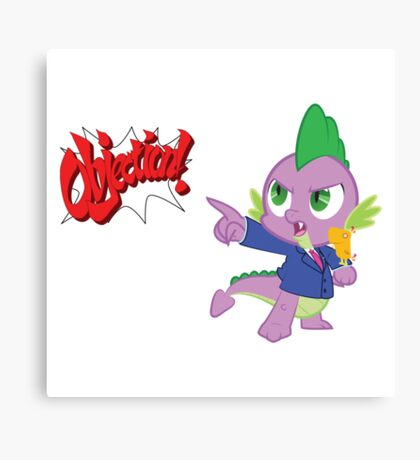 Spike Phoenix  Canvas Print