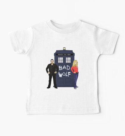 The Ninth Doctor and Rose Baby Tee