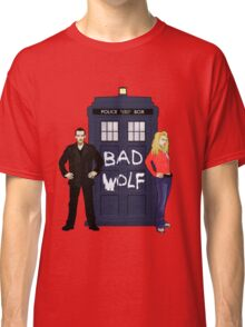 The Ninth Doctor and Rose Classic T-Shirt
