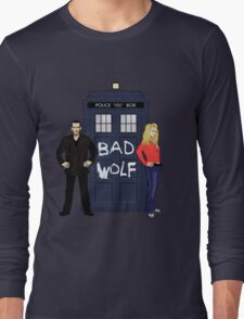 The Ninth Doctor and Rose Long Sleeve T-Shirt