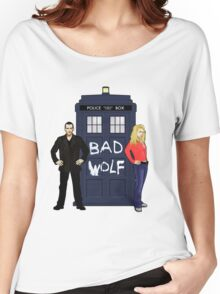 The Ninth Doctor and Rose Women's Relaxed Fit T-Shirt