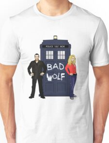 The Ninth Doctor and Rose Unisex T-Shirt