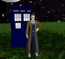 Dr Who and the Tardis by DrWhoJohnSmith