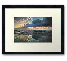 Impact on the Shore Framed Print