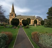 St Lawrence Church, Warkworth by Stephen Smith
