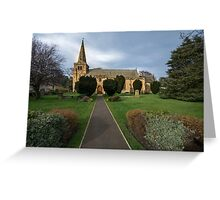 St Lawrence Church, Warkworth Greeting Card