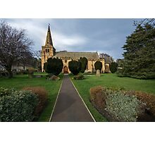 St Lawrence Church, Warkworth Photographic Print
