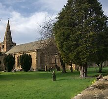 St Lawrence Church, Warkworth by English Landscape Prints