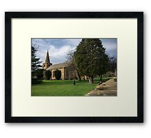 St Lawrence Church, Warkworth Framed Print
