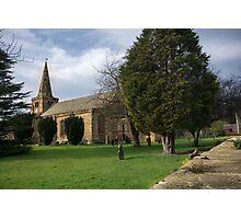 St Lawrence Church, Warkworth Photographic Print