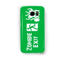 ZOMBIE EXIT SIGN by Zombie Ghetto Samsung Galaxy Case/Skin