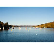 calm waters at fellfoot Photographic Print