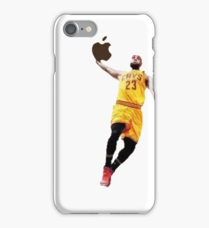King James Slam Dunk  iPhone Case/Skin